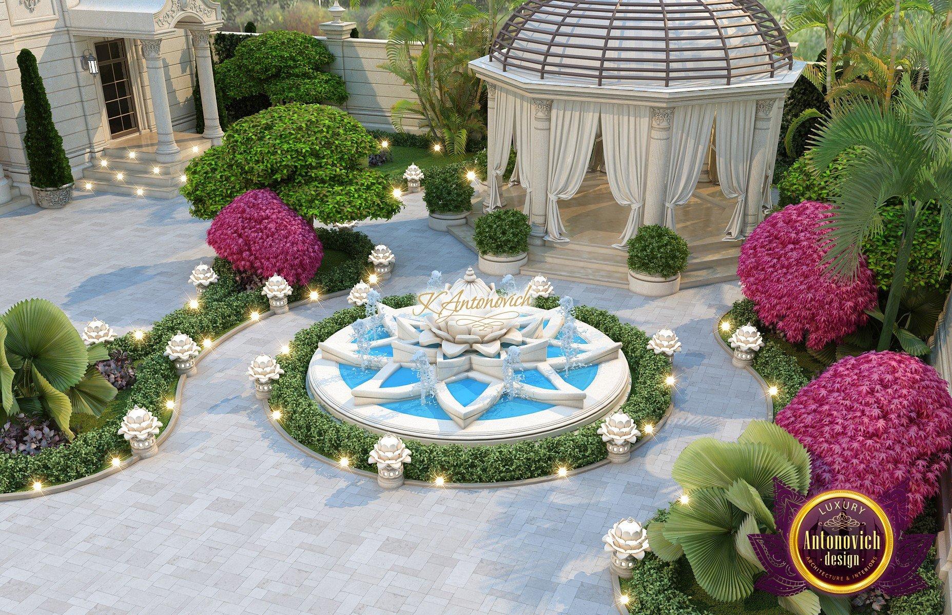 Luxury Villa Exterior on Luxury Backyard Design id=41631