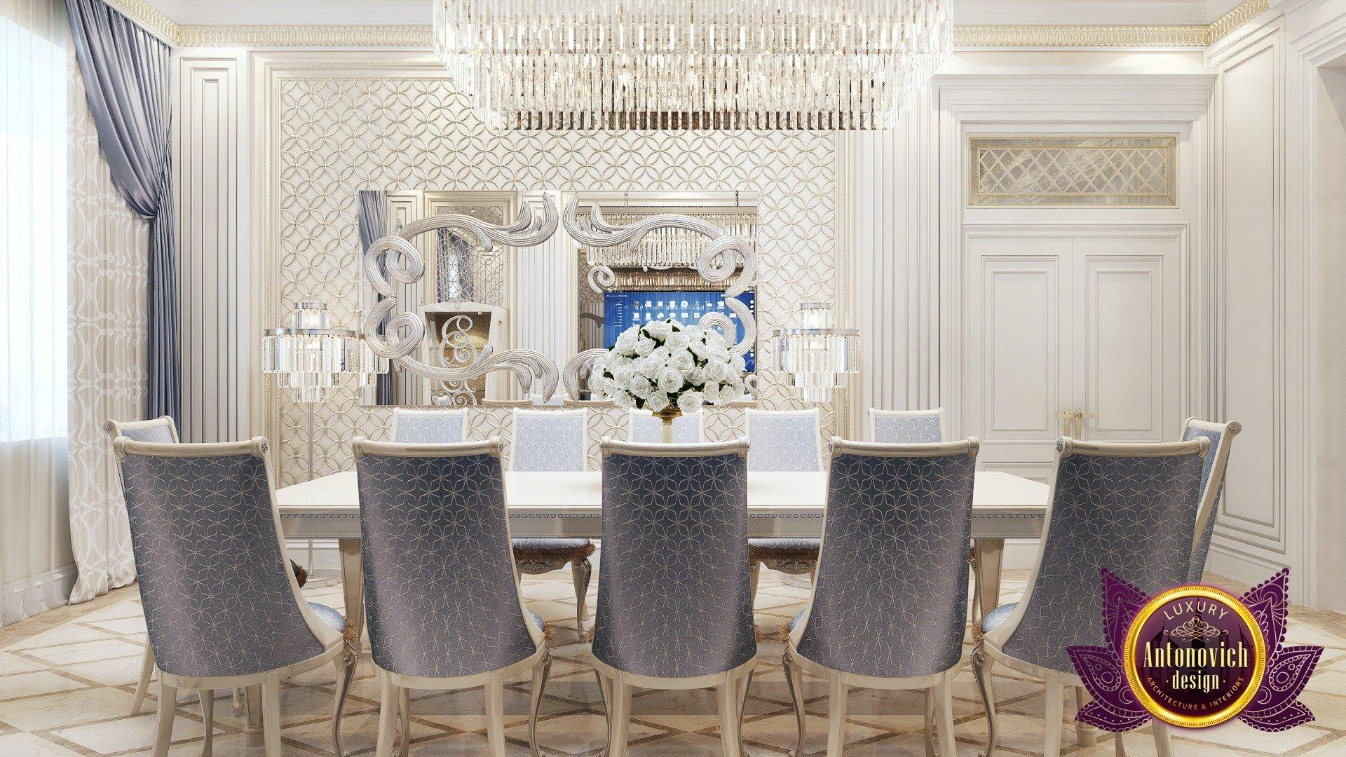 Luxe Dining Room Interior Design