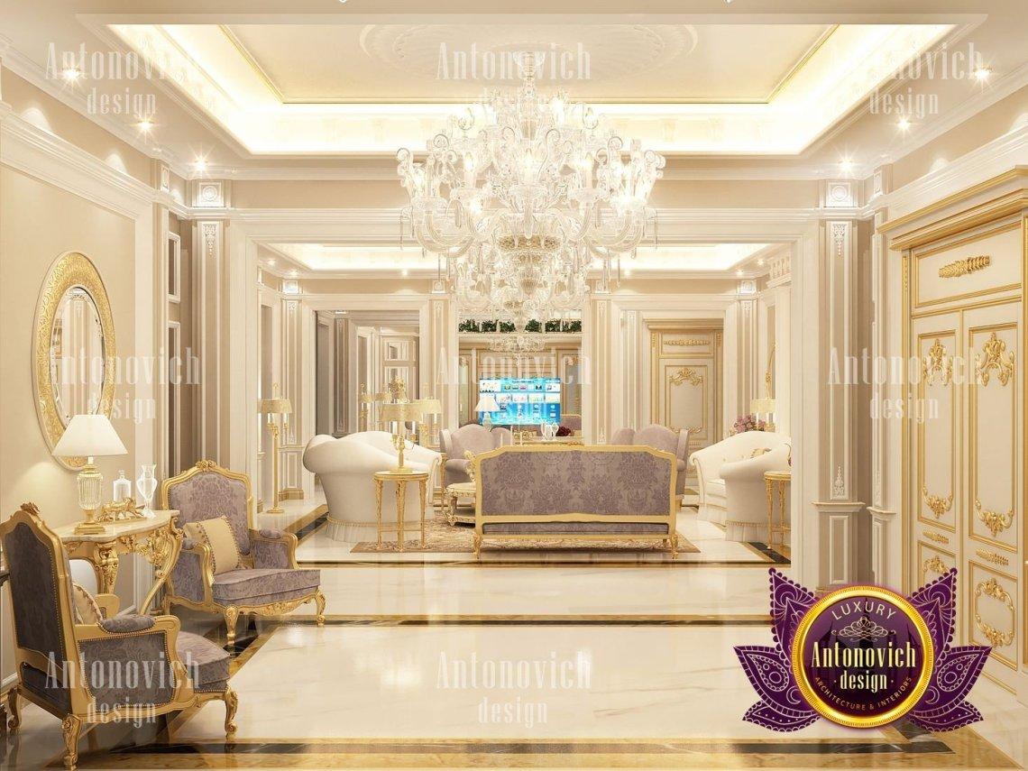 Modern Classic Villa Interior Design by Luxury Antonovich ...