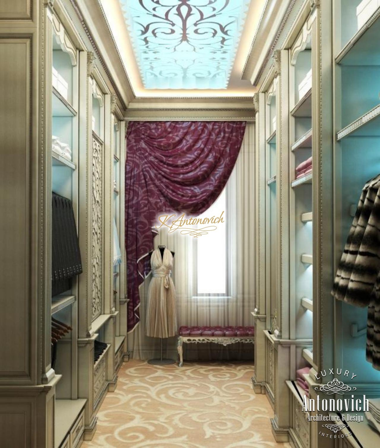 Dressing Room With Window