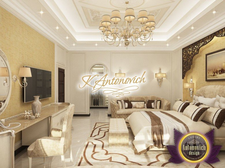 Gorgeous Exclusive Arabic Style Bedroom