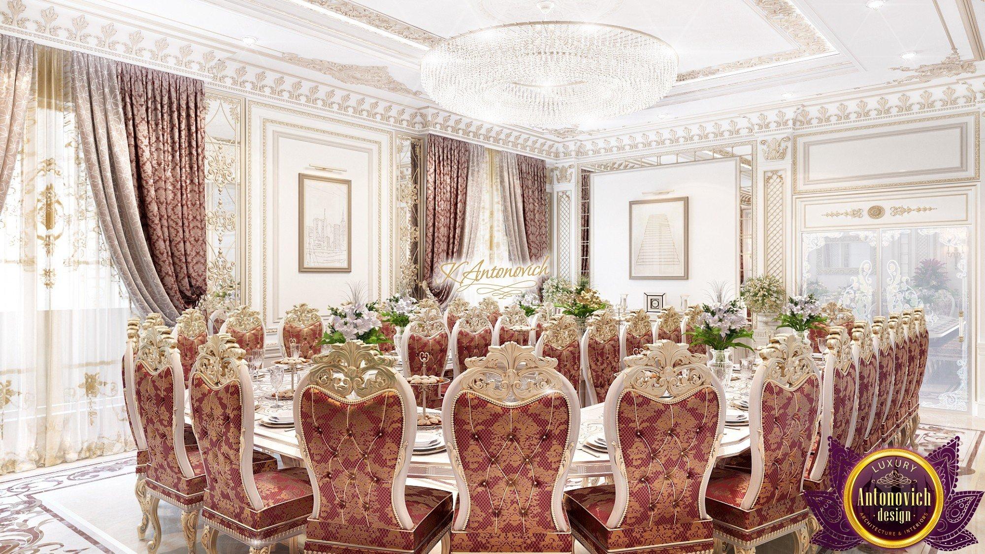 Luxury Arabic Dining Area