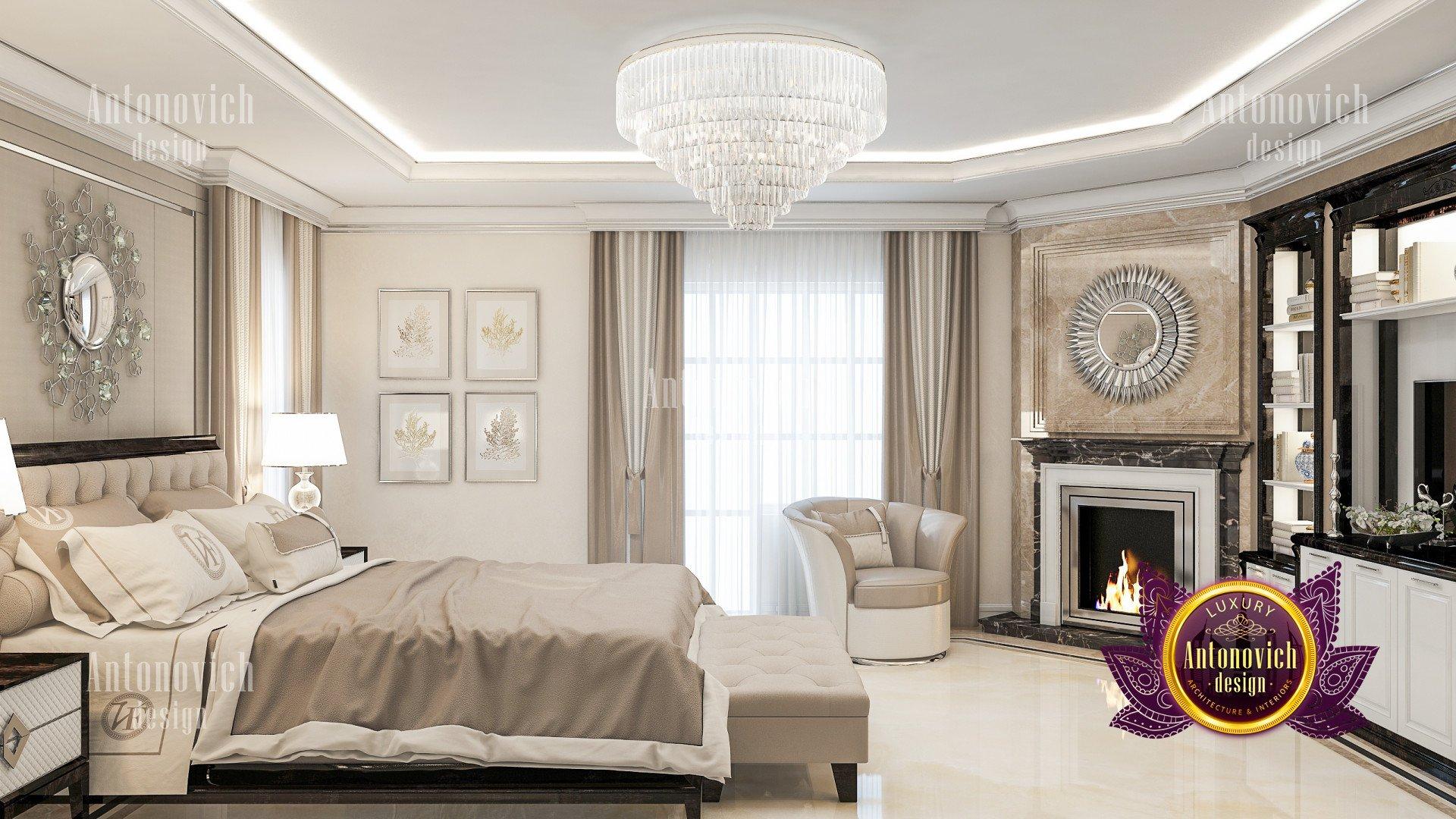 Main bedroom - luxury interior design company in California on Main Bedroom Decor  id=57617