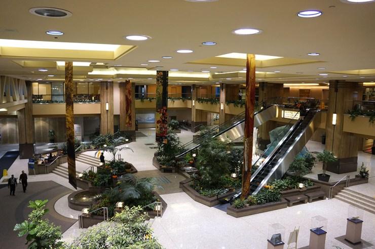 Sun Life Plaza main lobby