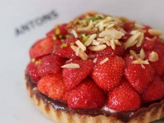 ANTONS jordbærtærte stor