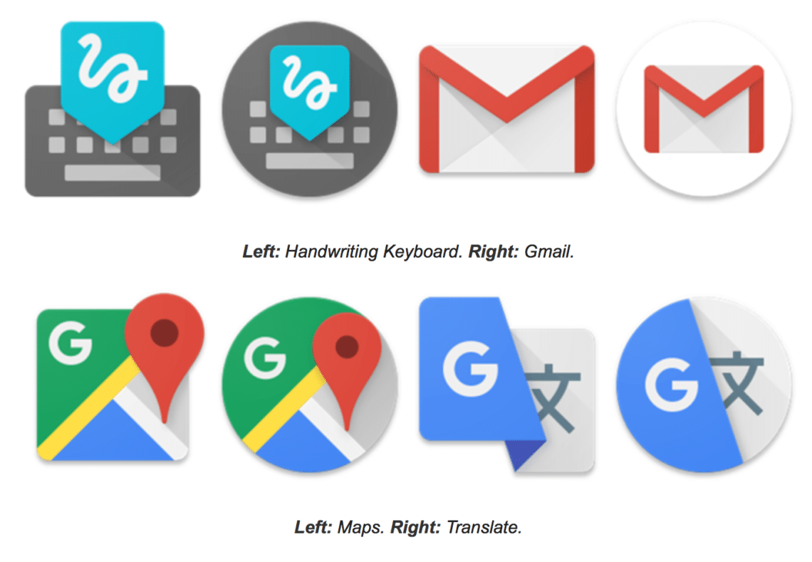 Pixel Launcher Round Icons