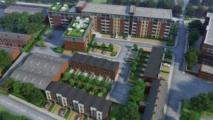 19 New Build Townhouses in Manchester