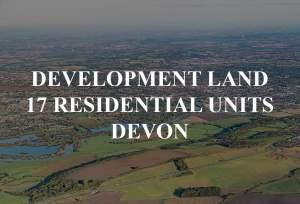 Development Land for 17 Residential Units in Devon