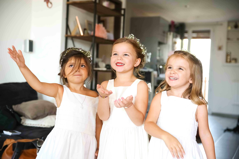 Les petites demoiselles d\'honneurs