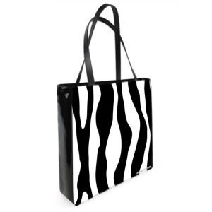 Antony Yorck Shoulder Bag mit Zebra Muster Vorderseite 129305