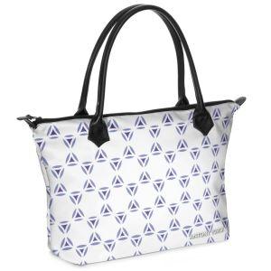 antony yorck shopper tasche vivalifa floral pattern print style purple blue white 140909 01