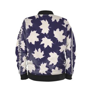 antony yorck blouson bomberjacke ml 003 maple leaf white blue black 161954 02