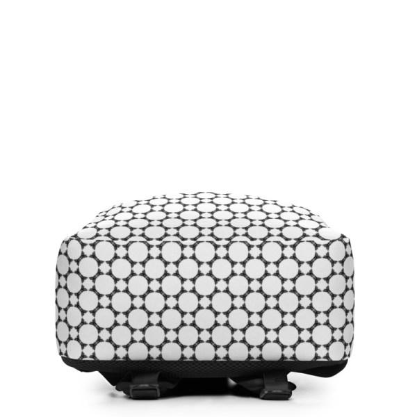 Antony Yorck • Rucksack • Fashion Brand Logo Pattern • collection TOBUSY 3 antony yorck rucksack backpack logo fashion brand patternschwarz weiss angebot 0000