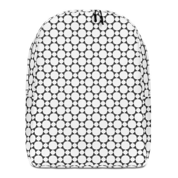 Antony Yorck • Rucksack • Fashion Brand Logo Pattern • collection TOBUSY 1 antony yorck rucksack backpack logo fashion brand patternschwarz weiss angebot 0006