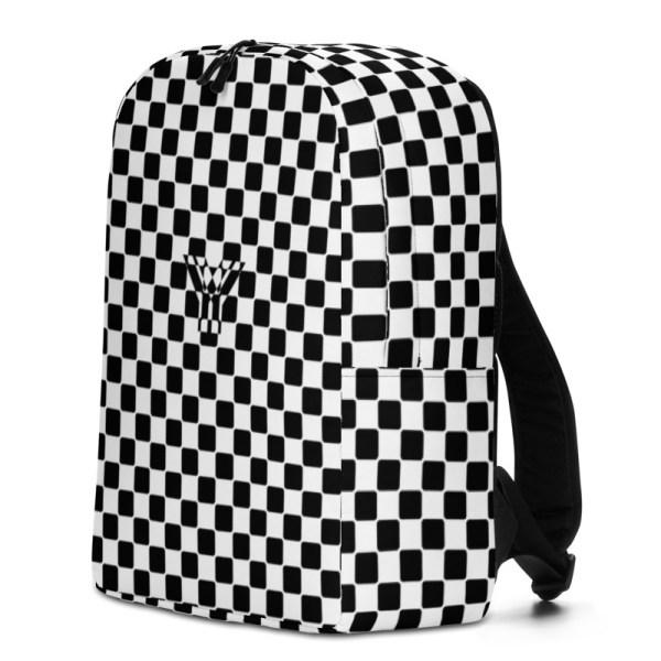 Antony Yorck • Rucksack • Caro Pattern mit Geheimfach • collection TOBUSY 2 antony yorck rucksack backpack caro patternschwarz weiss angebot 0012