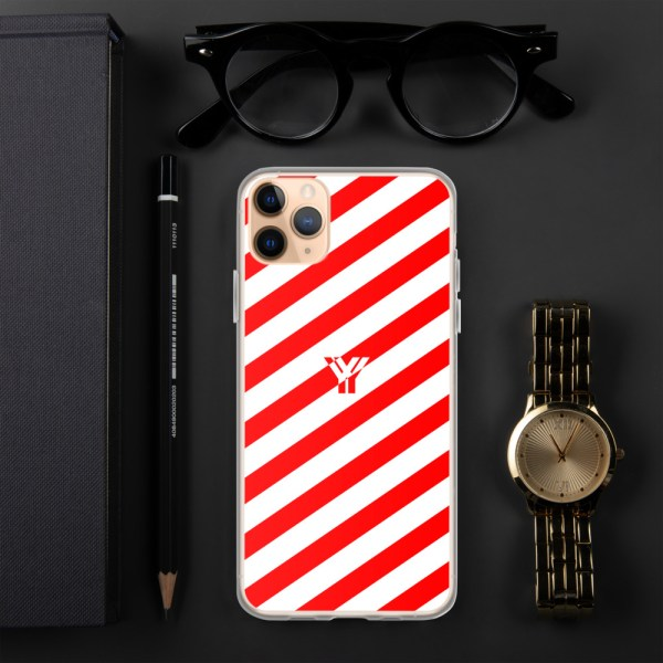 Antony Yorck • IPhone Hülle white and red • Collection OBVIOUS 6 mockup 03827a9a