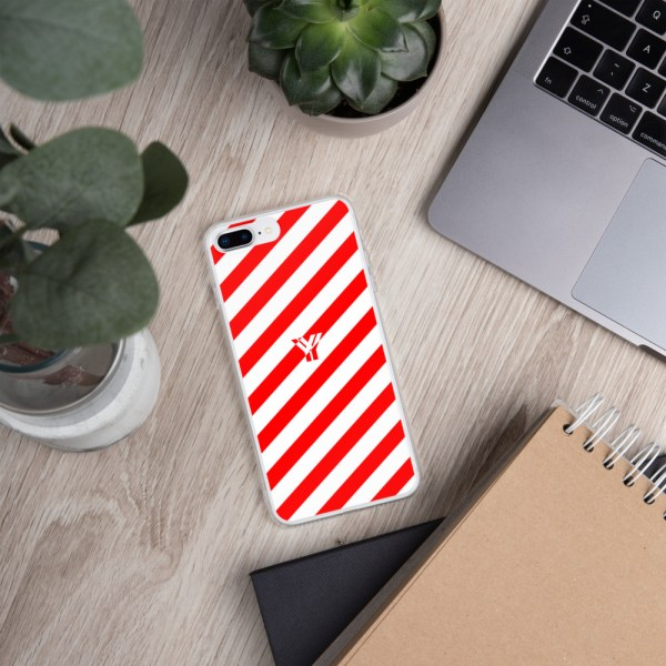 Antony Yorck • IPhone Hülle white and red • Collection OBVIOUS 17 mockup 0f9a060b