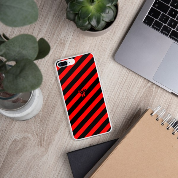 Antony Yorck • IPhone Hülle black and red • Collection OBVIOUS 17 mockup 3b77b97a