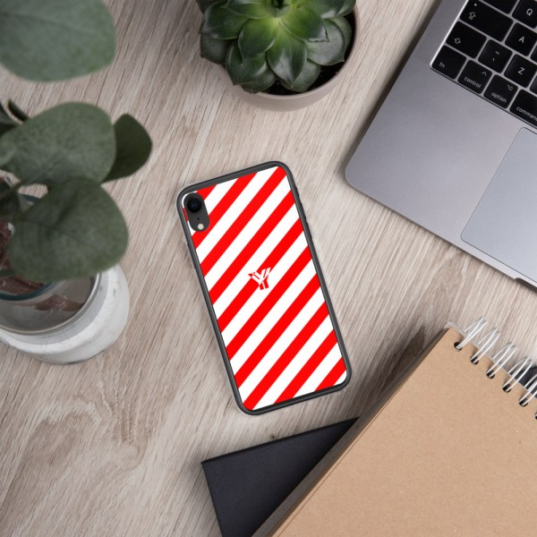 Antony Yorck • IPhone Hülle white and red • Collection OBVIOUS 29 mockup 6ed2dce1