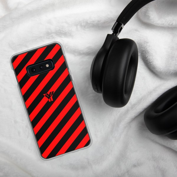 antony yorck accessoire samsung phone cases stripes black and red collection obvious 029