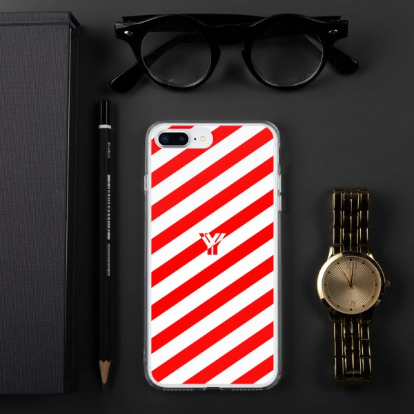 Antony Yorck • IPhone Hülle white and red • Collection OBVIOUS 15 mockup 7c547129