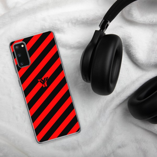 antony yorck accessoire samsung phone cases stripes black and red collection obvious 026