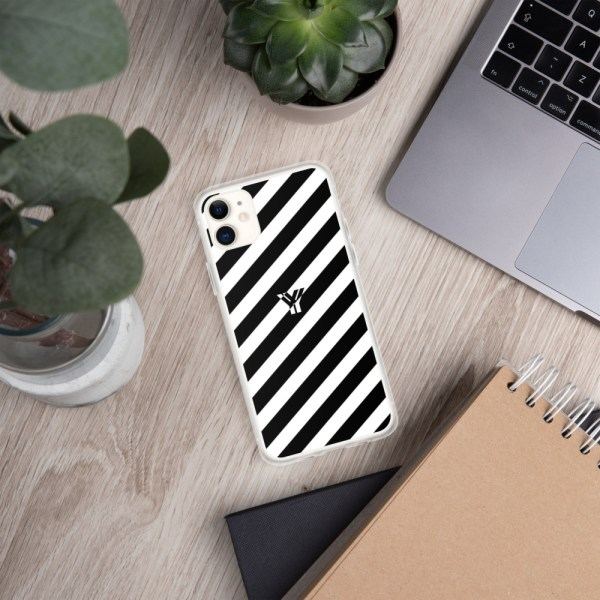 Antony Yorck • IPhone Hülle white and black • Collection OBVIOUS 2 mockup a2da156a