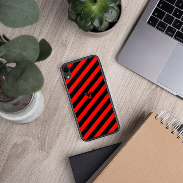 Antony Yorck • IPhone Hülle black and red • Collection OBVIOUS 29 mockup abe5b7d3