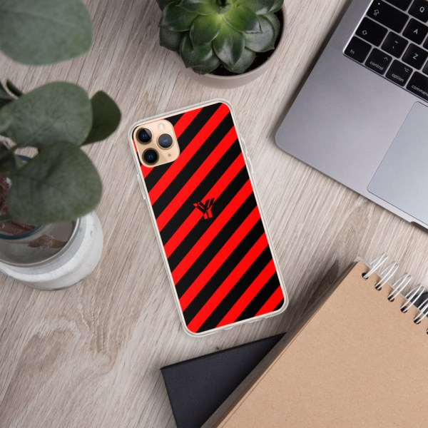 Antony Yorck • IPhone Hülle black and red • Collection OBVIOUS 8 mockup bfe434fa