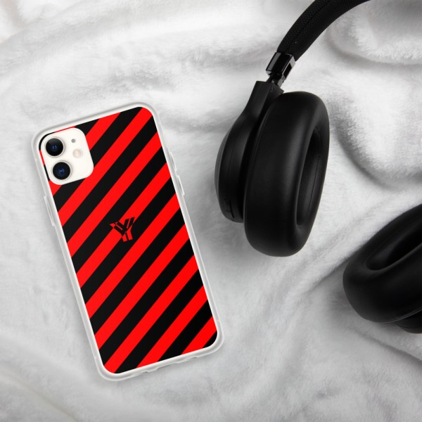 Antony Yorck • IPhone Hülle black and red • Collection OBVIOUS 1 mockup d1dae8aa