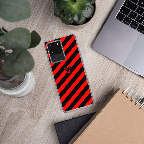 antony yorck accessoire samsung phone cases stripes black and red collection obvious 019