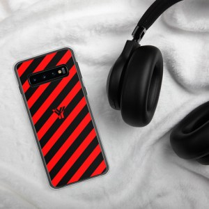 antony yorck accessoire samsung phone cases stripes black and red collection obvious 035