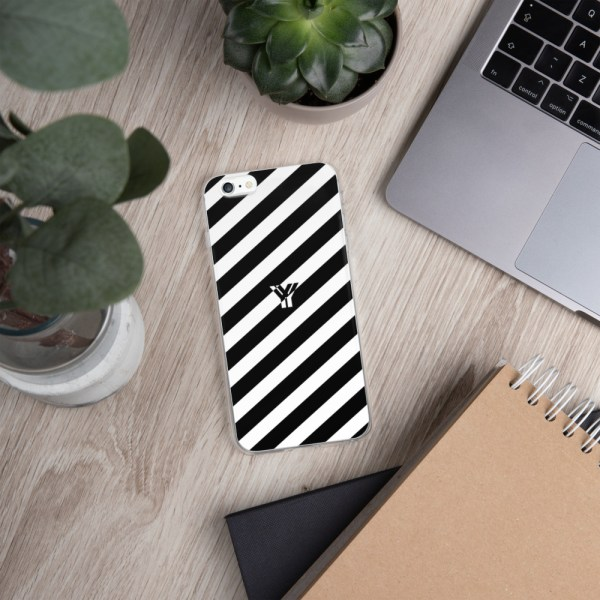 Antony Yorck • IPhone Hülle white and black • Collection OBVIOUS 11 mockup f3001ed2