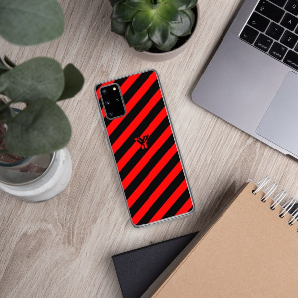antony yorck accessoire samsung phone cases stripes black and red collection obvious 022