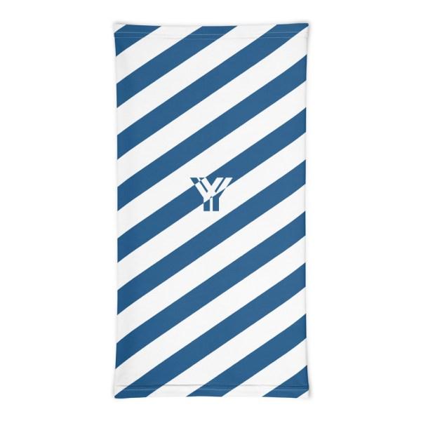 Antony Yorck • Multifunktionstuch blau weiß schräg gestreift • collection OBVIOUS 3 antony yorck multifunktionstuch blau weiss gestreift schlauchschal0033