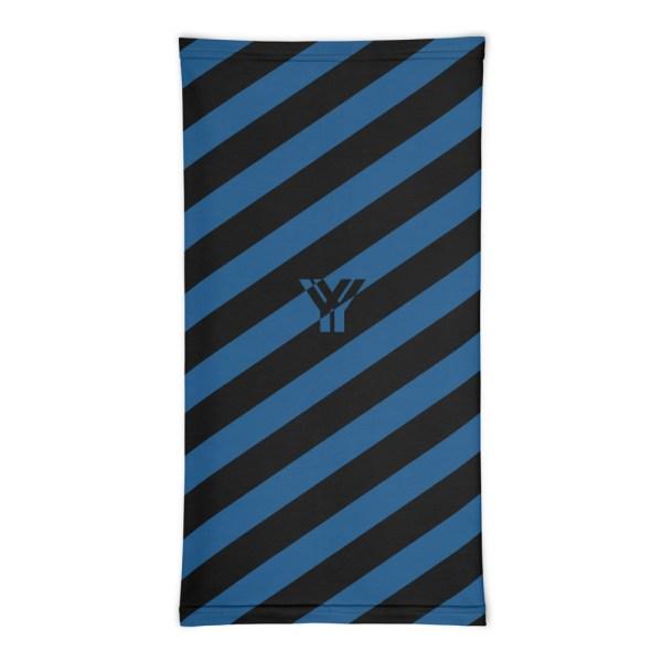 Antony Yorck • Multifunktionstuch navy blue schwarz schräg gestreift • collection OBVIOUS 3 antony yorck multifunktionstuch navy blau schwarz gestreift schlauchschal 0033