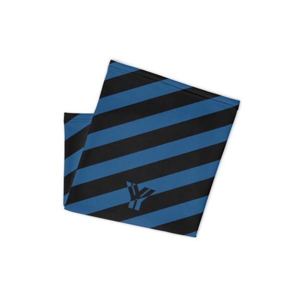 Antony Yorck • Multifunktionstuch navy blue schwarz schräg gestreift • collection OBVIOUS 2 antony yorck multifunktionstuch navy blau schwarz gestreift schlauchschal 0034