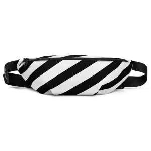 Bauchtasche-schwarz-weiß-gestreift-antony-yorck-vorne