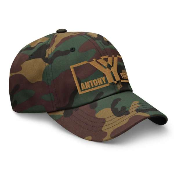 DAD CAP STRAPBACK CAMOUFLAGE BRAND OLD GOLD 3 mockup 4b6d95bb