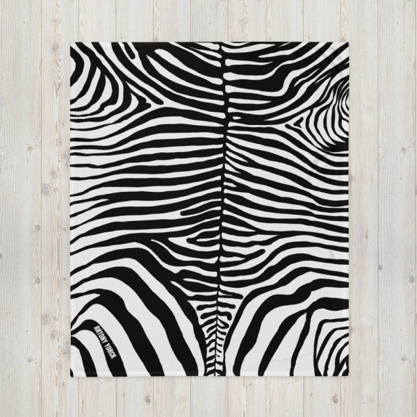 DECKE ZEBRA 1 sofa decke kuscheldecke zebra 06