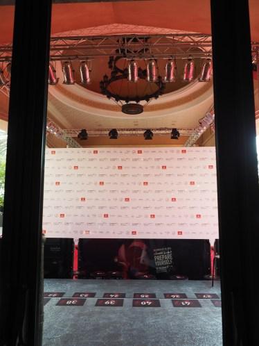 Designated area for Red Carpet media