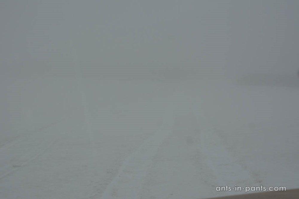 Туман на подъезде