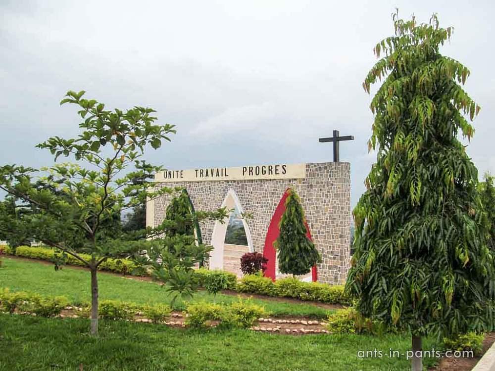 mausoleum in Bujumbura
