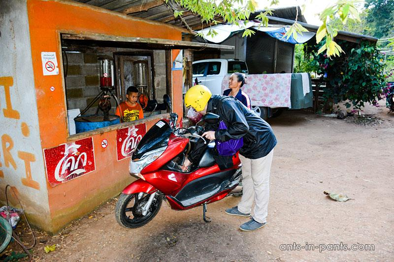 Gasoline stations in Thailand
