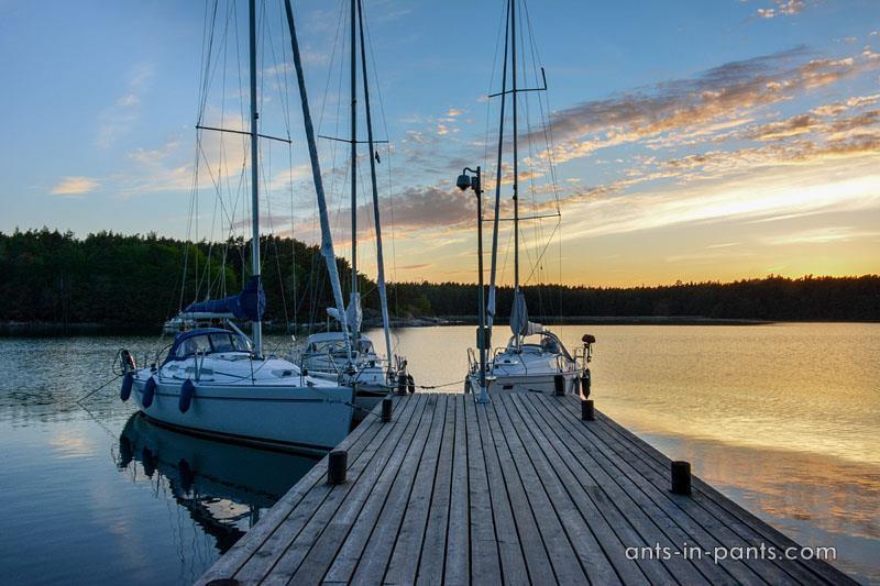 Seili yacht tour