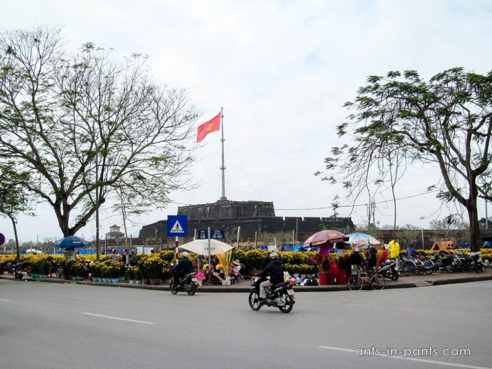 Цитадель в Хюе