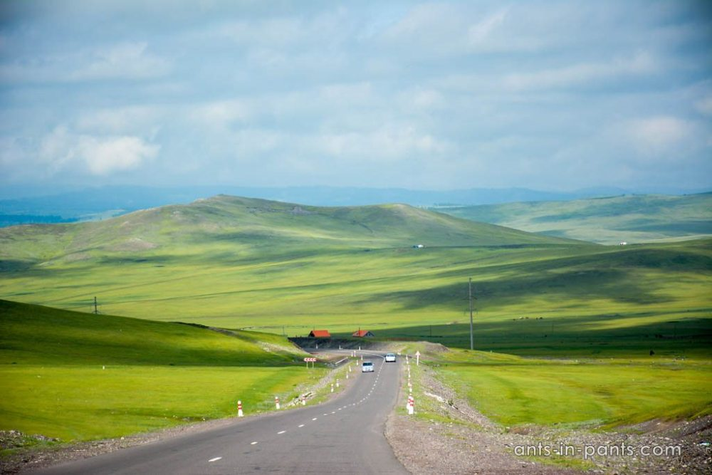 steppe views in Mongolia