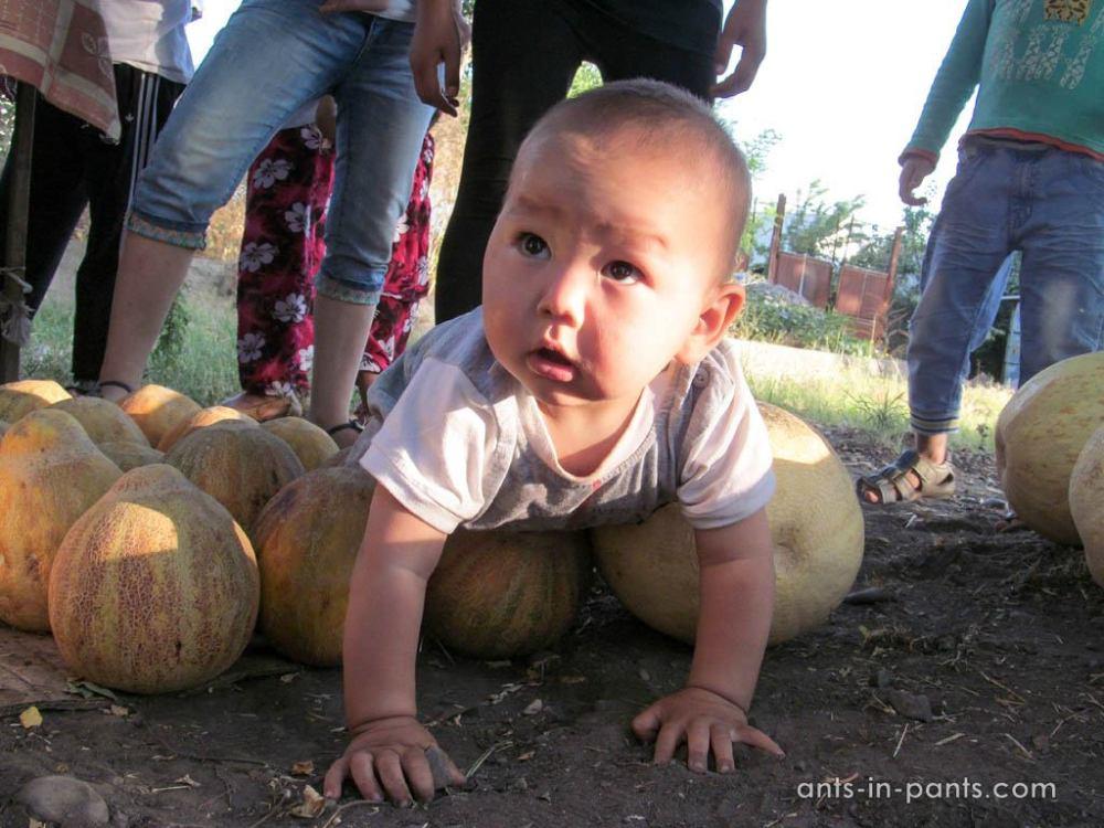 Киргизский ребенок