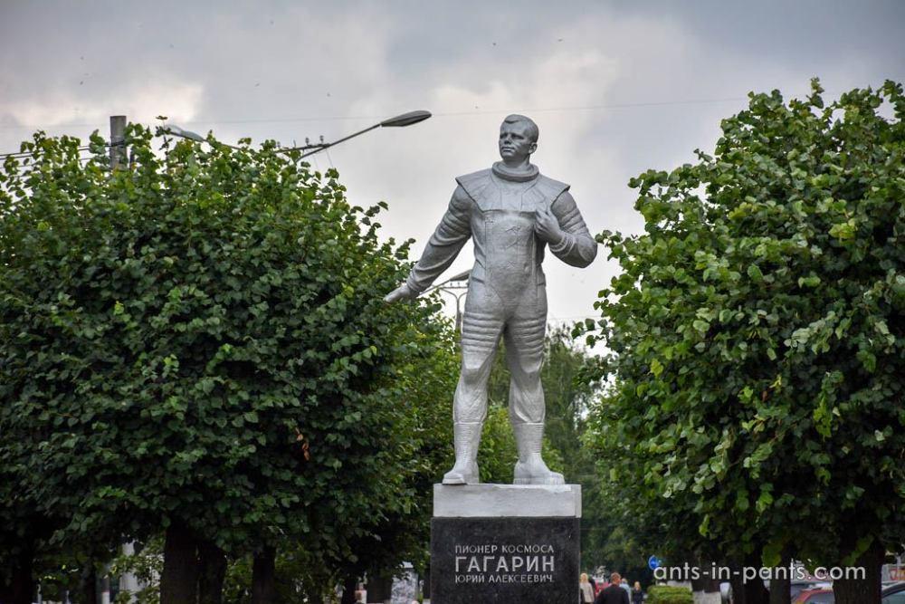 Гагарин в Чебоксарах