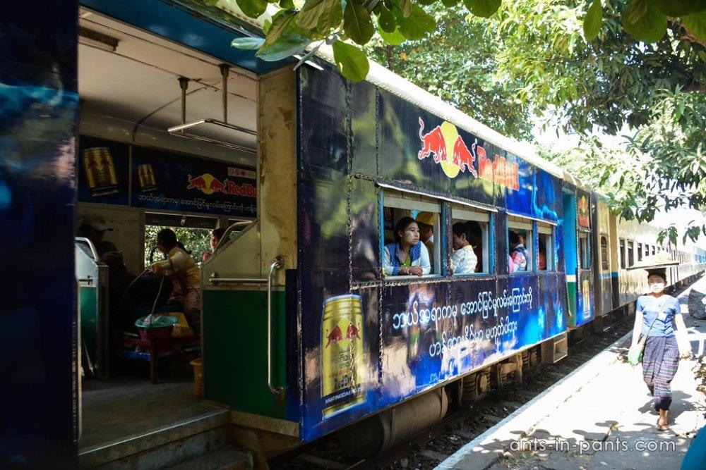 поезда в Бирме